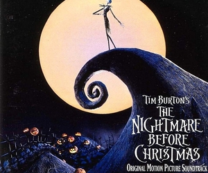 illustration, nightmare before christmas, and movies image