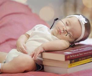 baby, books, and c image
