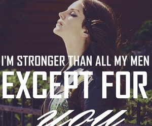 lana del rey, ultraviolence, and pretty when you cry image