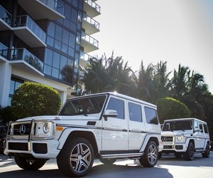 g-class, luxury, and white image