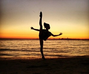 beach, dance, and summer image