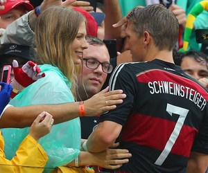 germany, girlfriend, and brazil soccer image