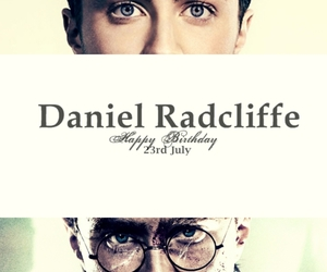 harry potter, birthday, and daniel radcliffe image