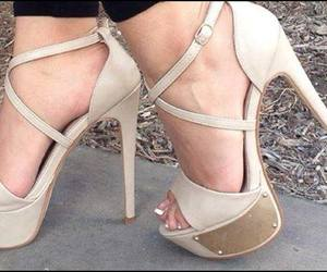 pretty, bege, and shoes image