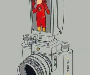 flash, camera, and funny image