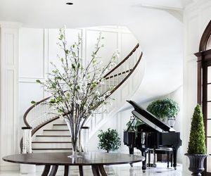 interior design, luxury, and white image