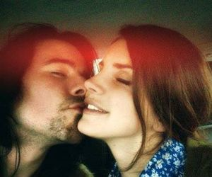 lana del rey and kiss image