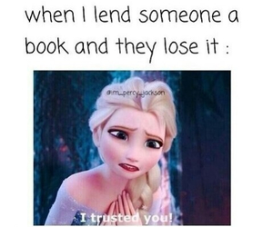 book, frozen, and true image