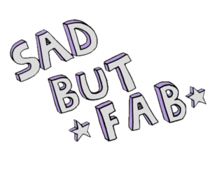 sad, fab, and quotes image