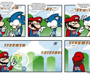 humour, sonic, and mario image