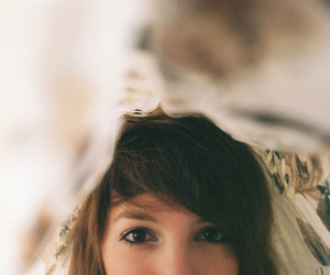 girl, eyes, and vintage image