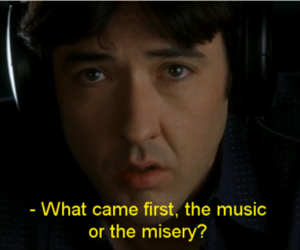 movie, high fidelity, and music image