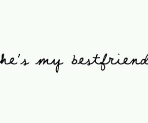 best friend, friendship, and words image