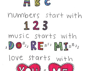 love, music, and cute image