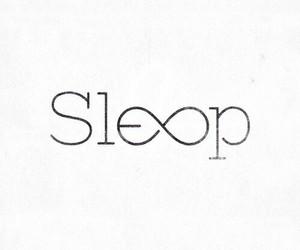 sleep and infinity image
