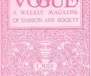 floral, pink, and vogue image