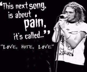 alice in chains, layne staley, and love hate love image