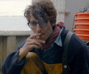 smoking, cigarette, and glasses image