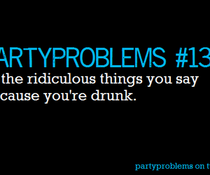 drinking, party problems, and drunk image