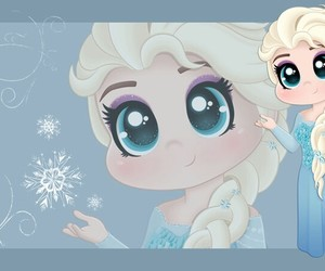 frozen, elsa, and cute image