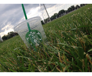 cool, soccer, and starbucks image