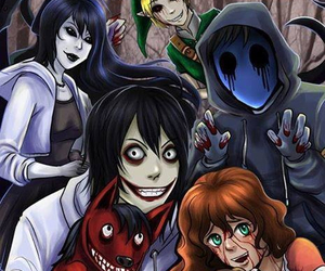 creepypasta, jane the killer, and sally image