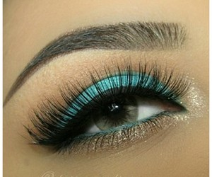 blue, eyes, and fashion image