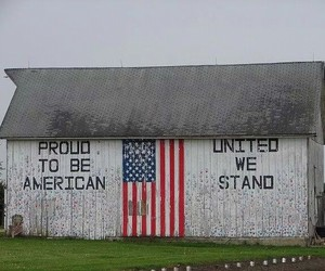 american, barn, and proud image