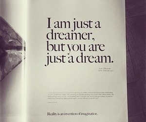 books, dreams, and black and white quotes image
