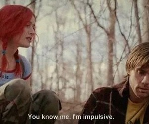 movie, eternal sunshine of the spotless mind, and quote image