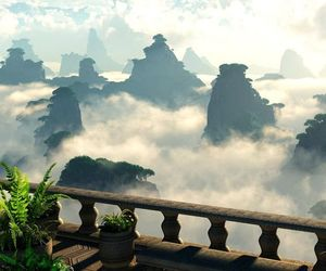 china, photography, and clouds image