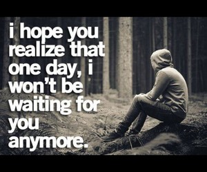quote, love, and waiting image