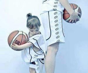 Basketball and ball image