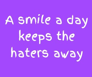 happy, quote, and smile image