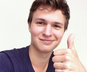 ansel elgort, tfios, and the fault in our stars image
