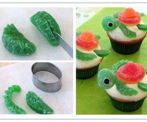 diy, cupcake, and turtle image