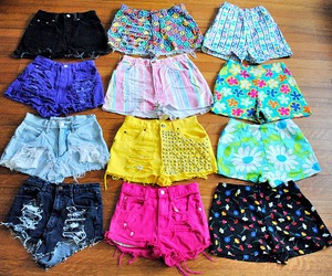 shorts, color, and pink image