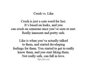 crush, love, and like image