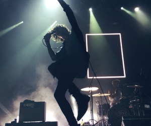 the 1975, concert, and matt healy image