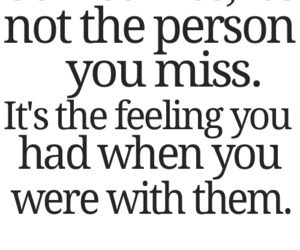 quote, miss, and feeling image