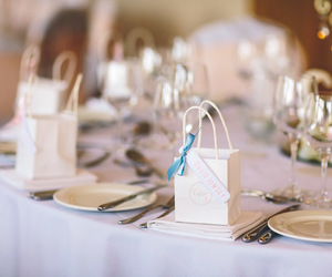 blue, table, and table decor image