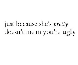 quote, pretty, and ugly image