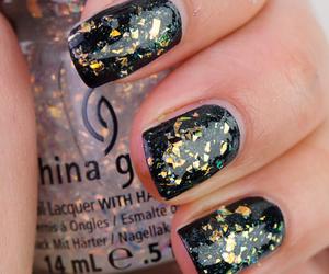 manicure, china glaze, and nail art image