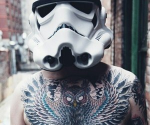 star wars and tattoo image