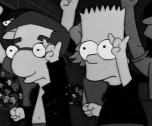 rock and roll and the simpsons image