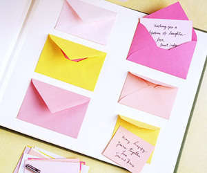envelopes, letters, and cute image