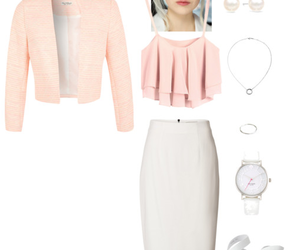 business, choker, and Polyvore image