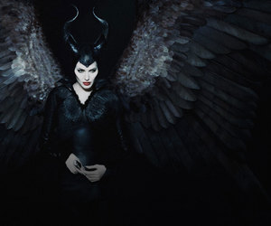 maleficent and Angelina Jolie image