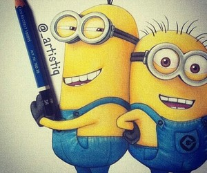 drawing and minions image