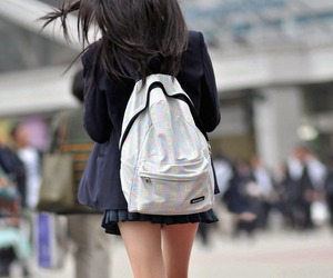 girl, school uniform, and uniform image